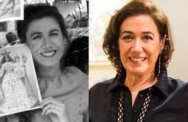 No ar em 'Todas as mulheres do mundo', Lilia Cabralinterpretou dona Amorzinho em 'Tieta', uma das beatas seguidoras de Perpétua (Foto: TV Globo)