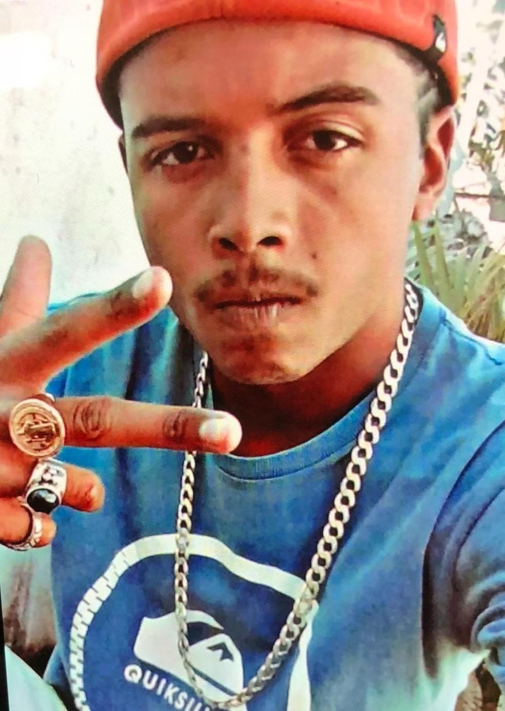 Renan Rafael da Silva Barbosa, atingido por tiros na UnB — Foto: Reprodução