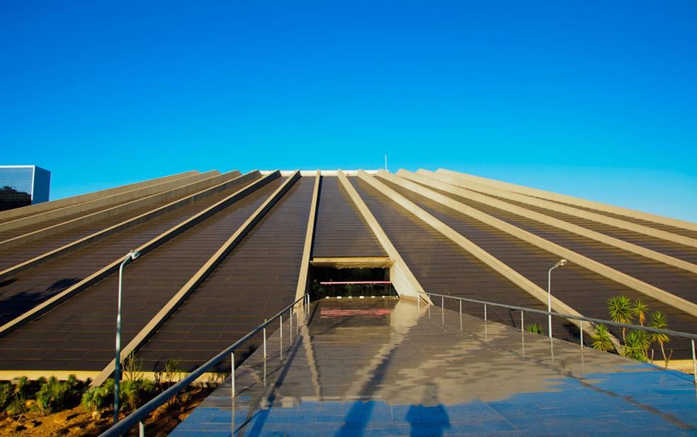 Teatro Nacional - Brasília (DF) #Obras_Niemeyer — Foto: Marcelo Brandt/G1