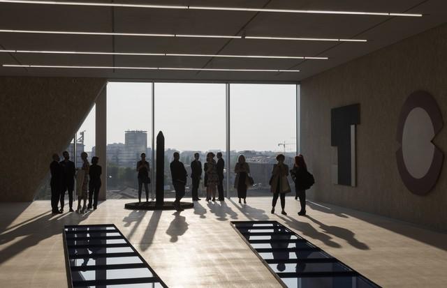 Por dentro da Torre da Fondazione Prada (Foto: divulgação)
