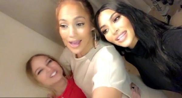 Sia, Jennifer Lopez e Kim Kardashian (Foto: Instagram)