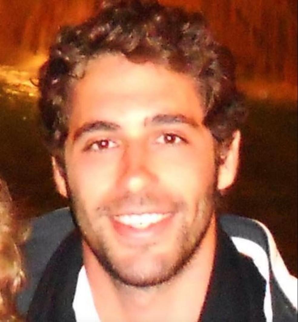 O corpo de Luiz Taliberti Ribeiro da Silva, morto no rompimento da barragem de Brumadinho, foi reconhecido pela família — Foto: Reprodução/Facebook