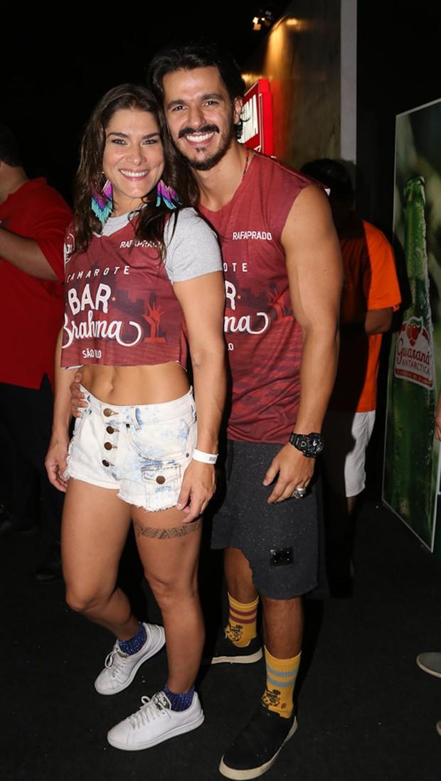Priscila Fantin e Bruno Lopes (Foto: Cláudio Augusto/Brazil News)