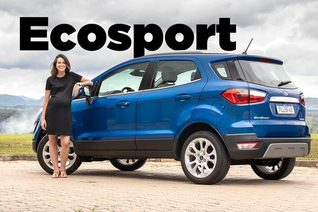 Vídeo: Ford EcoSport sem estepe (Foto: Autoesporte)
