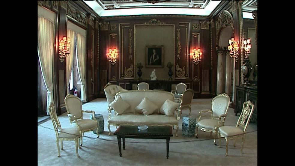 Palácio foi projetado pelo arquiteto Armando Carlos da Silva Telles  (Foto: Reprodução / GloboNews)