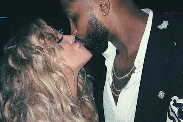 A socialite Khloé Kardashian e o jogador de basquete Tristan Thompson (Foto: Instagram)