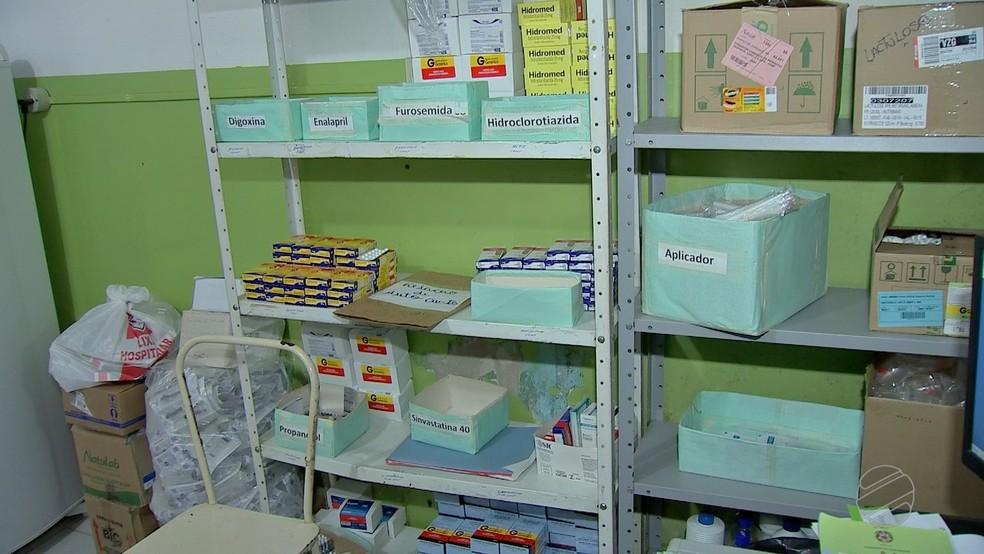 Faltam remédios e insumos básicos em unidades de saúde, segundo o MPE (Foto: TVCA/ Reprodução)