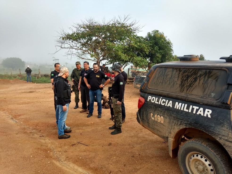 Operação Terra Prometida foi um desdobramento de uma ação de agosto (Foto: Polícia Civil/Divulgação)