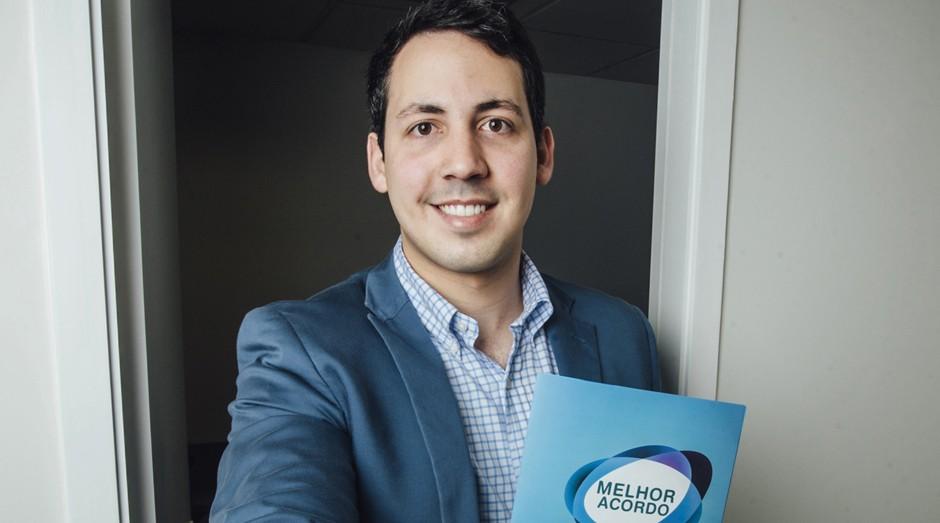 Victor Aracaty, fundador da Melhor Acordo (Foto: Durval Lima)
