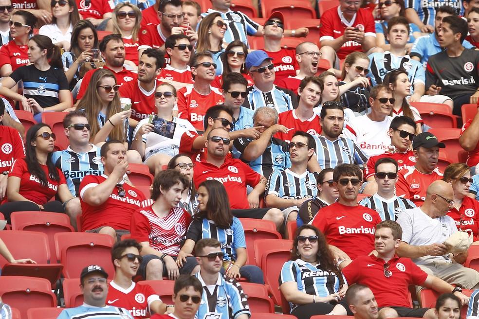 e970d2117028b ... Grêmio e Inter tentam reverter pena do STJD — Foto  Lucas Uebel  Divulgação
