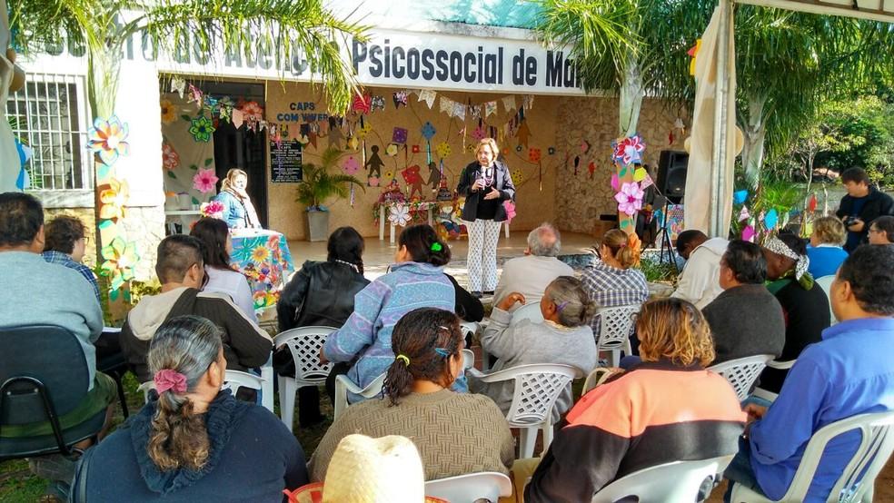 -  Semana da Luta Antimanicomial  Foto: Prefeitura de Marília/Divulgação