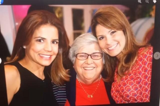 Samara Felippo, Nivea Stelmann e Hilda Rebello, que morreu em 2019 (Foto: Reprodução)
