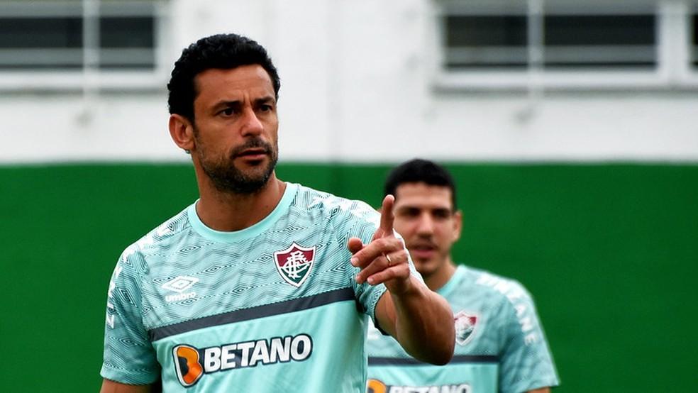 Fred, Nino, Fluminense — Foto: Mailson Santana / Fluminense FC