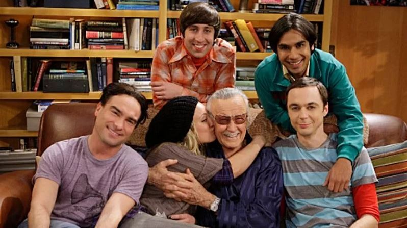 Stan Lee em The Big Bang Theory (Foto: The Big Bang theory/Instagram)