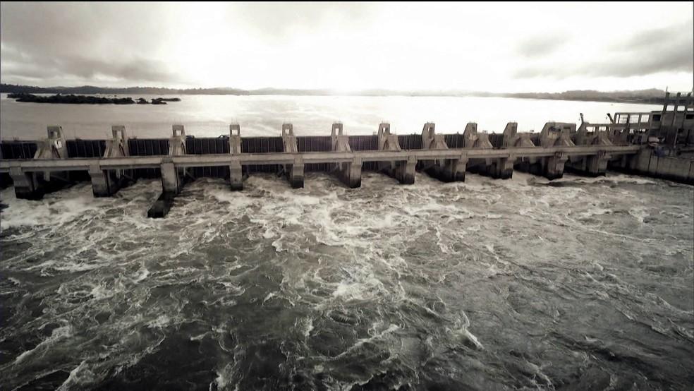 Usina hidrelétrica de Belo Monte/GNews — Foto: Reprodução GloboNews
