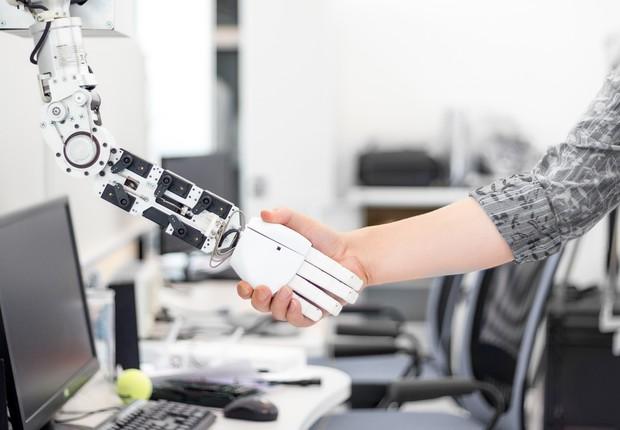 tecnologia, robô, automação, futuro, inteligência artificial (Foto: Thinkstock)