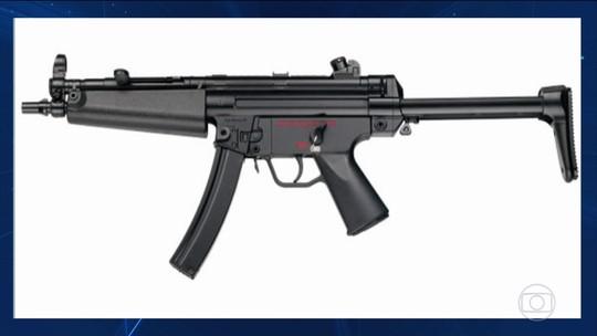 Submetralhadoras MP5 sumiram do arsenal da Polícia Civil há sete anos