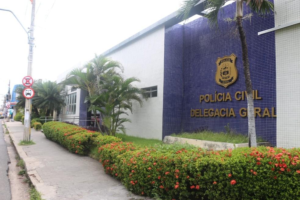 Delegacia Geral da Polícia Civil do Piauí — Foto: José Marcelo/G1 PI