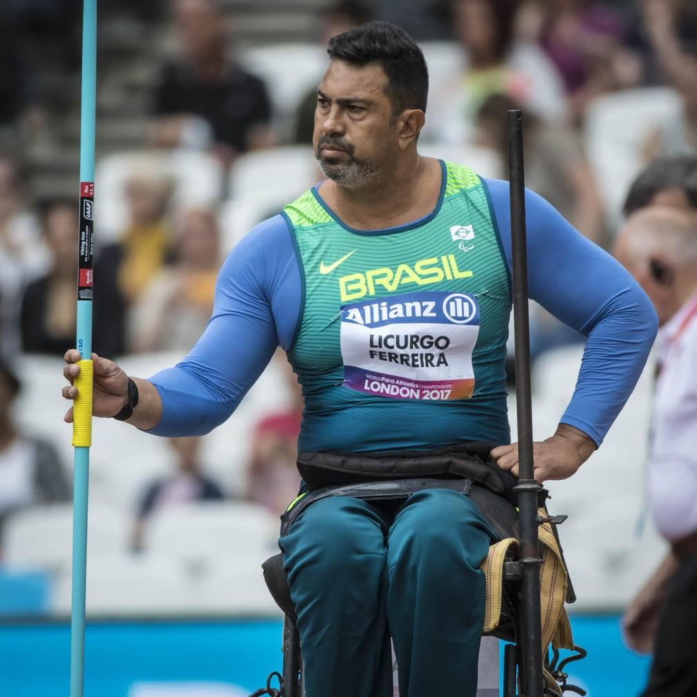 Jonas Licurgo é prata no Mundial paralímpico de atletismo (Foto: Marcio Rodrigues/CPB)