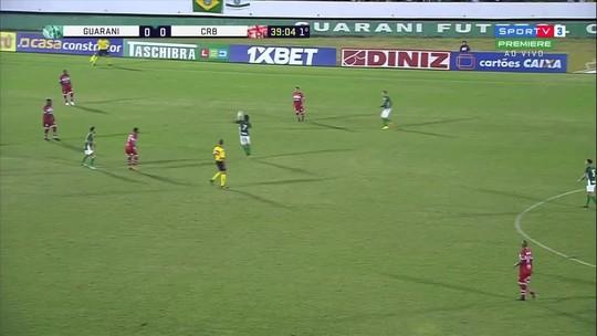 Invicto há três jogos e sem sofrer gol: Umberto ressalta evolução do Guarani