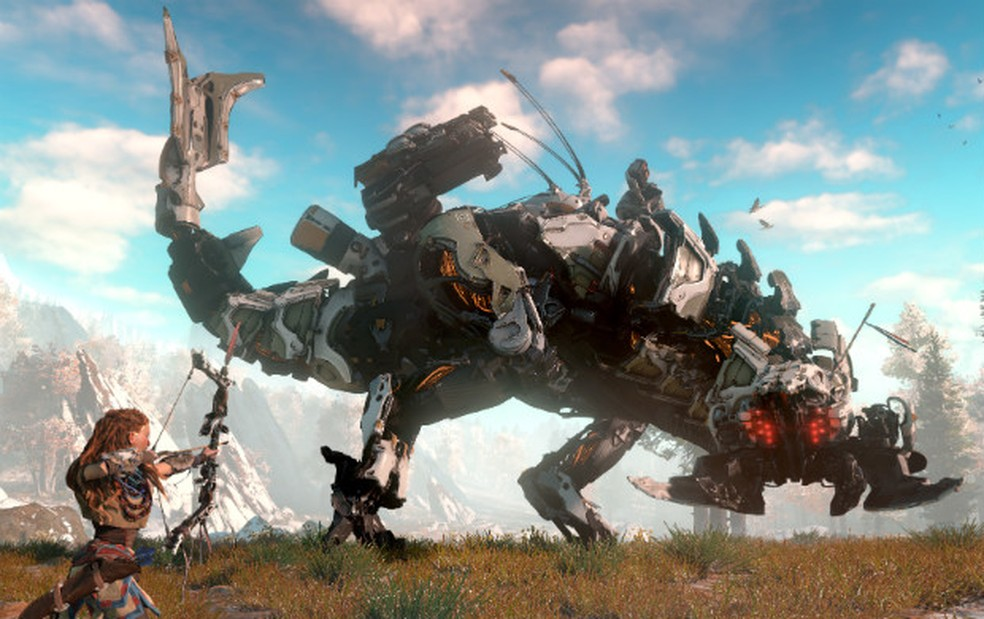 'Horizon: Zero Dawn', exclusivo do PS4, foi revelado na E3 2015 (Fo Divulgação/Sony)