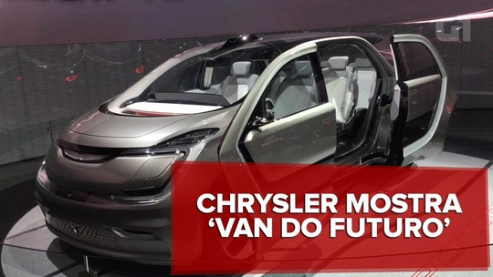 VÍDEO: Van da Chrysler 'cresce' com a família e tem reconhecimento facial