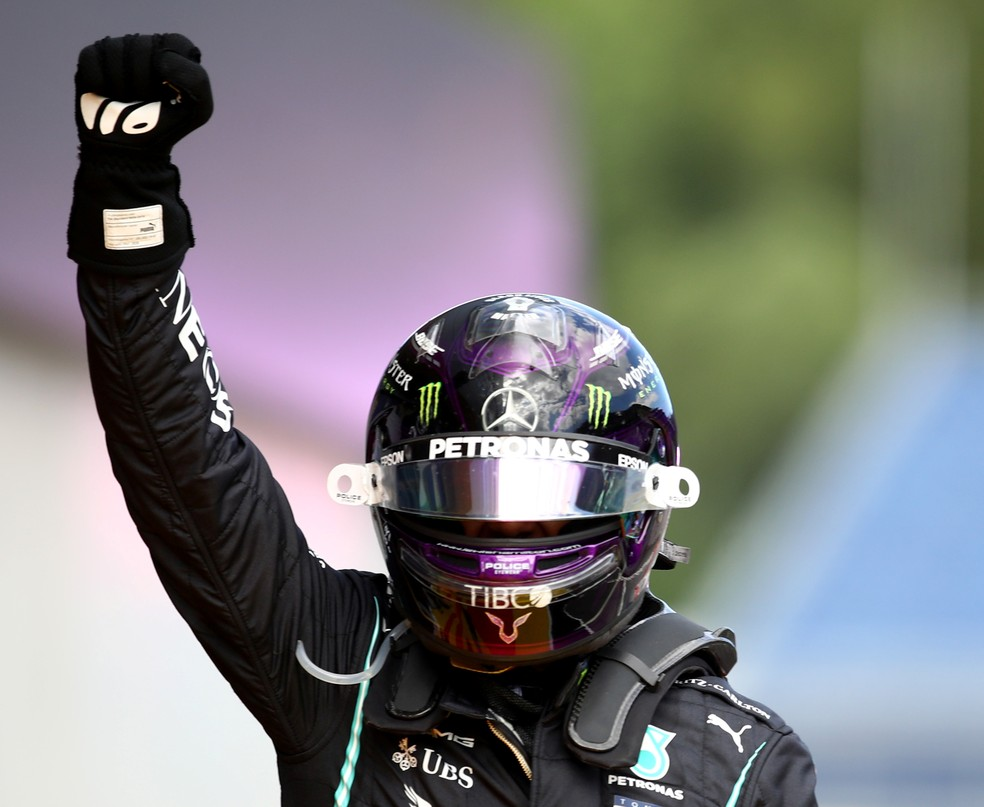 Hamilton vence GP da Estíria — Foto: Mark Thompson/Pool via REUTERS