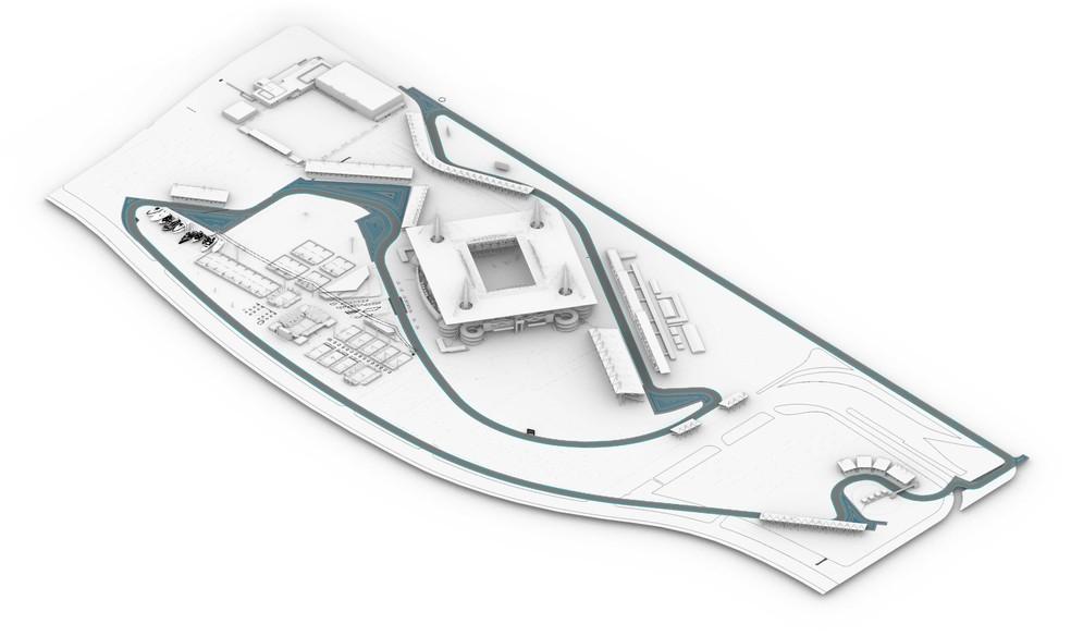 Circuito de F1 de Miami — Foto: Divulgação/f1mia.com