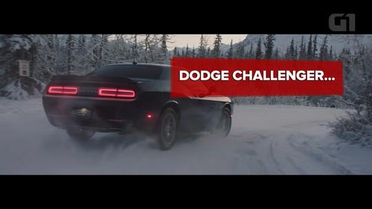 Dodge Challenger GT ganha tração integral e encara a neve em vídeo