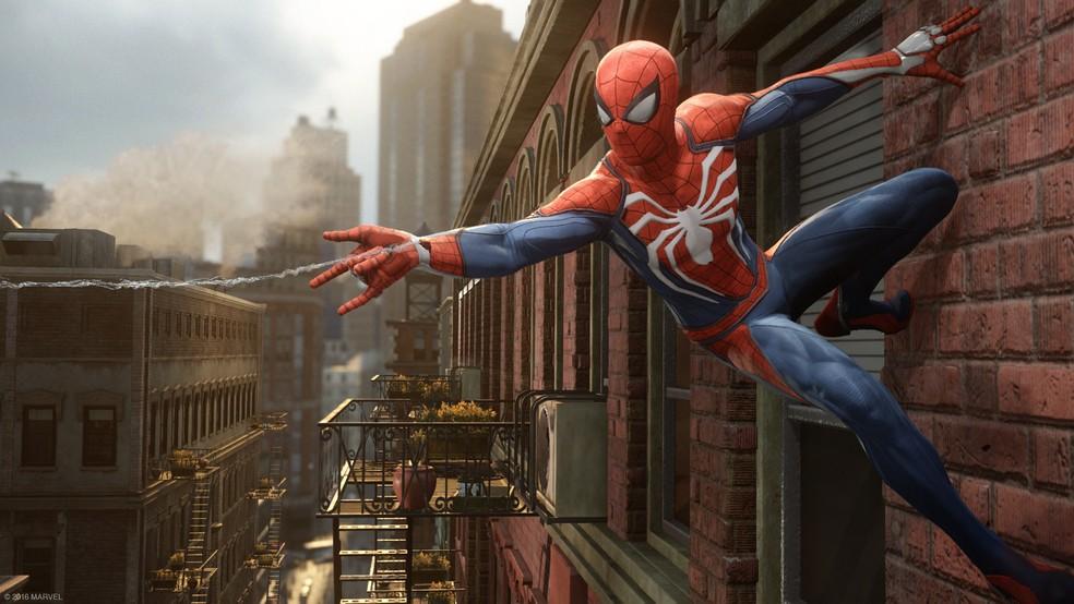 Foto de 'Spider-Man', novo game do Homem-Aranha para PS4 (Foto: Divulgação/Sony)