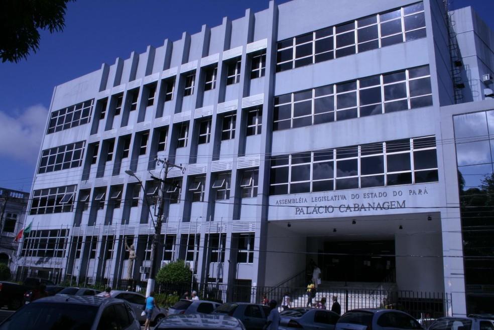 Assembleia Legislativa do Pará, Alepa, em Belém — Foto: Alepa