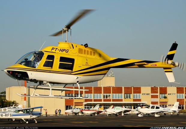 Helicóptero que transportava o jornalista Ricardo Boechat e acabou caindo não estava licenciado para realizar transporte de passageiros (Foto: Reprodução)