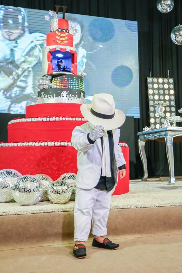 O aniversariante Henry, filho da cantora Simone (Foto: Guirlanda Lima/ Brazil News)