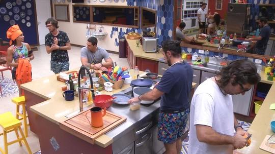 Brothers repercutem Prova do Anjo enquanto preparam o almoço