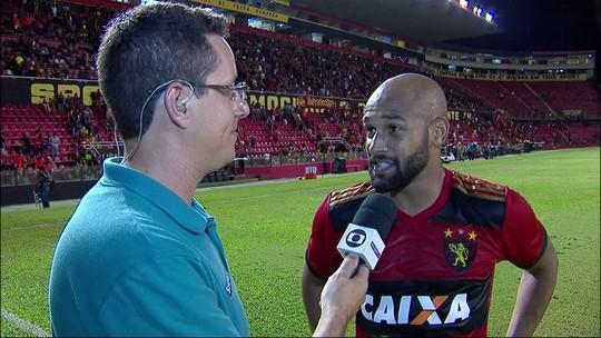 """Felipe Bastos sobre golaço: """"É uma qualidade que eu tenho e tenho usado pouco"""