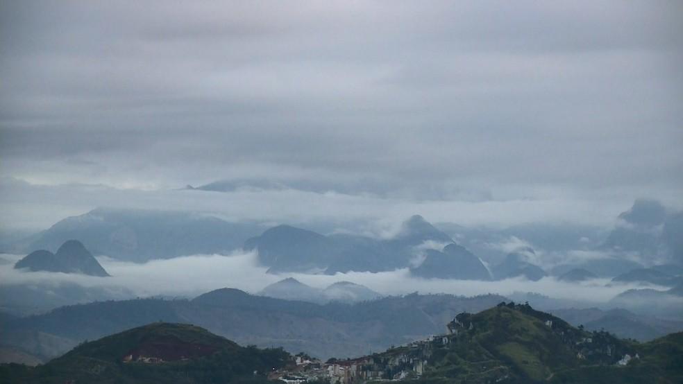 Baixas temperaturas aquecem a economia e atraem turistas para a Região Serrana — Foto: Reprodução/ TV Gazeta