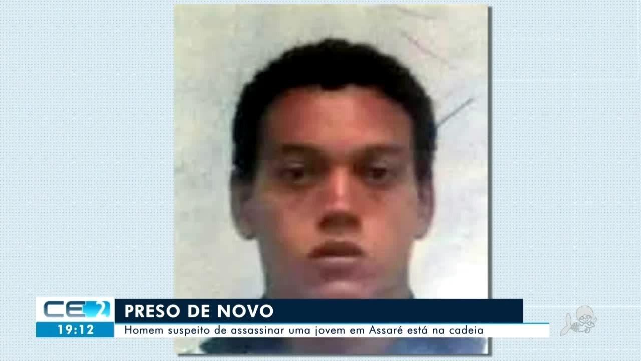 Preso homem suspeito de assassinar uma jovem em Assaré