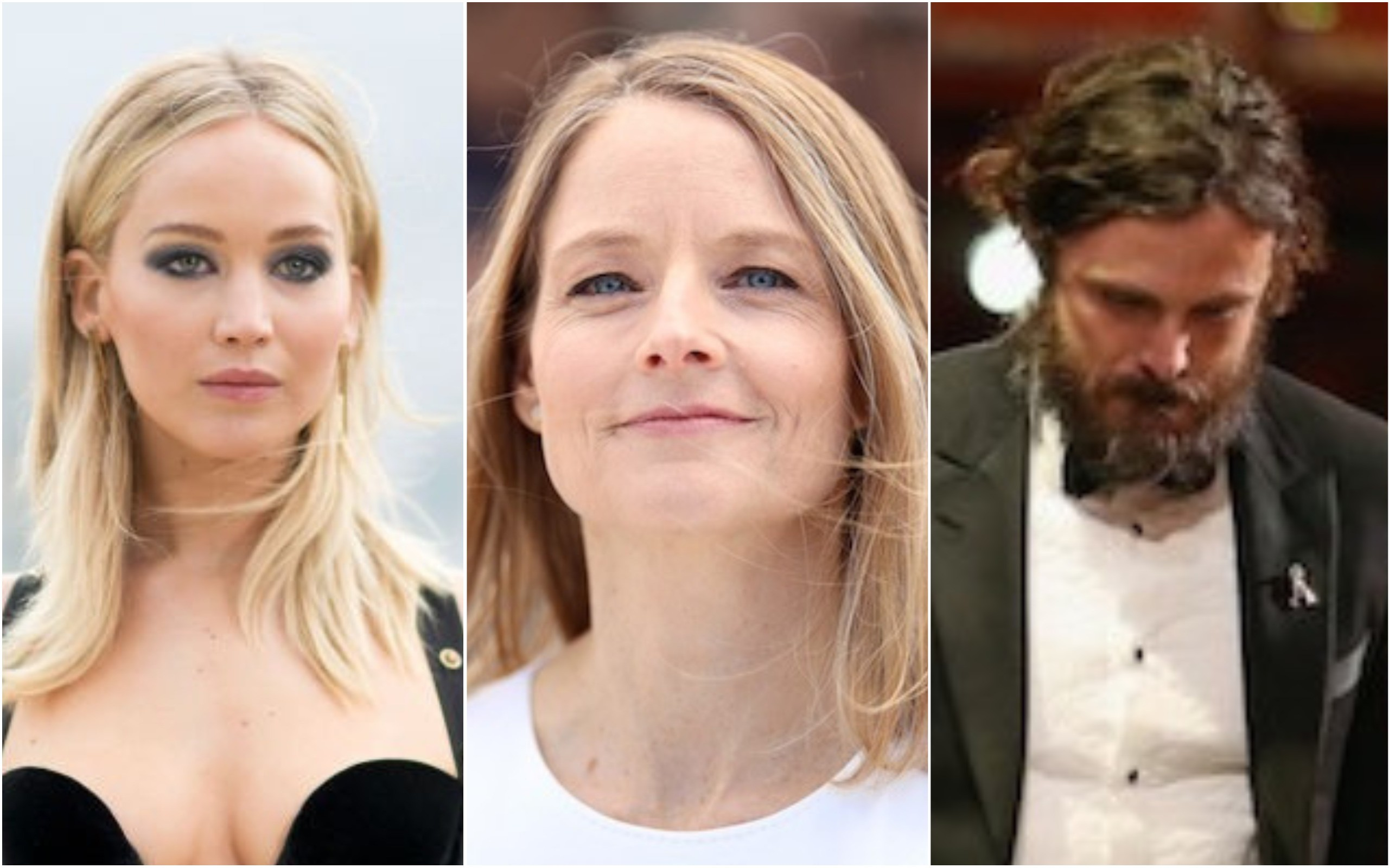 Jennifer Lawrence, Jodie Foster, Casey Affleck (Foto: Getty Images)