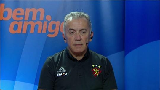 Nelsinho Baptista fala sobre empate do Sport com o Botafogo e lembra passagem pelo Japão