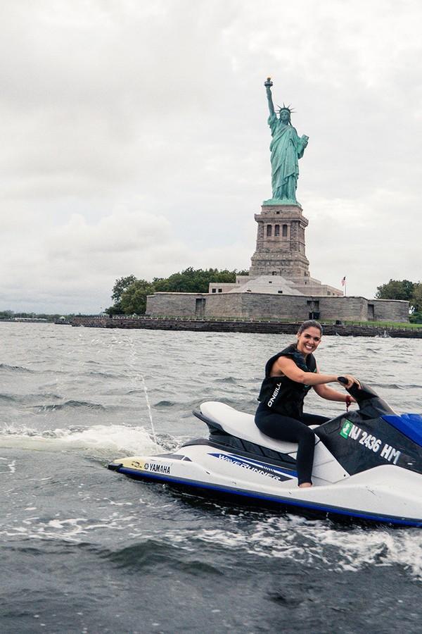 Jet ski em NY (Foto: Divulgação)