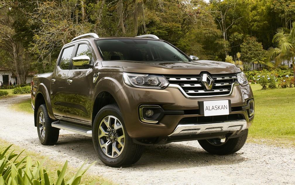 Renault Alaskan — Foto: Divulgação