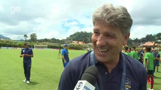 """Renato Gaúcho aproveita curso da CBF para """"troca de ideias"""" e diz que aprende com os mais jovens"""