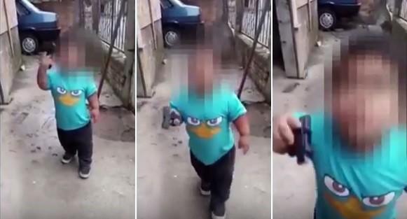 A violência do discurso do menino tem chocado na web
