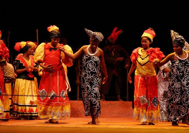Ópera sul-africana Princess Magogo kaDinuzulu (2002) (Foto: Opera Africa/Divulgação)