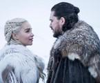 'Game of Thrones': Kit Harington e Emilia Clarke em cena na série da HBO | HBO