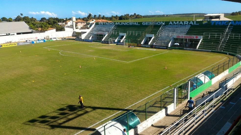Estádio Gerson Amaral, em Coruripe — Foto: Ailton Cruz/Gazeta de Alagoas