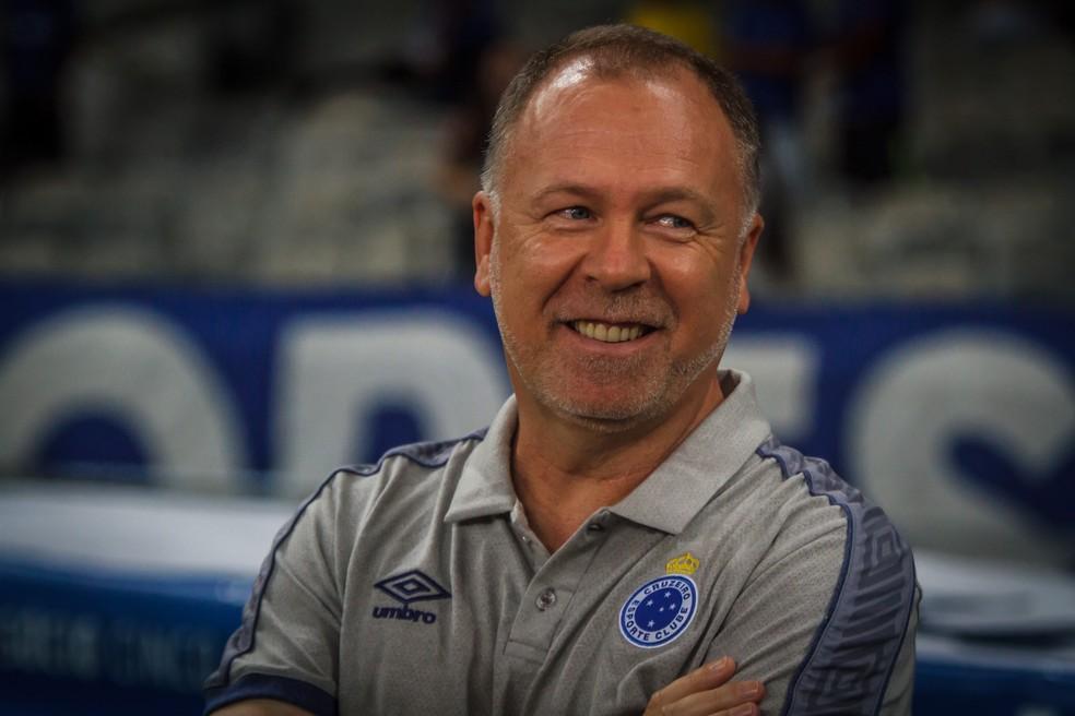 A equipe de Mano Menezes não sabe o que é perder desde novembro do ano passado — Foto: Vinnicius Silva/Cruzeiro