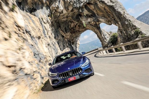 Maserati Ghibli (Foto: Divulgação)