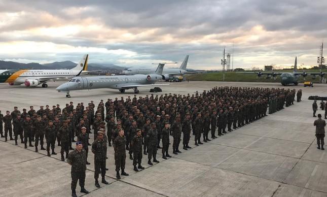 Homens do Exército Brasileiro