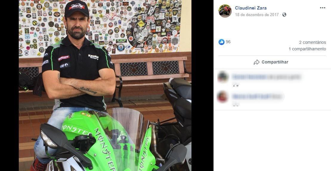 Motociclista que morreu em acidente entre cinco motos é velado em Leme